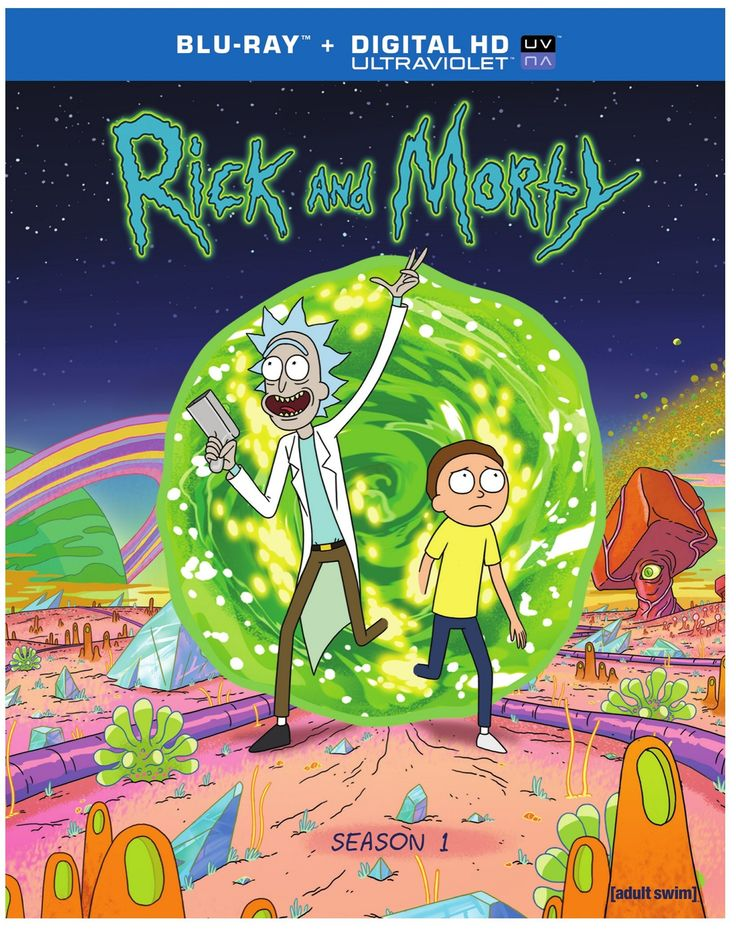 Rick & Morty: Season 1 [Blu-ray]. Yer brother should get me this