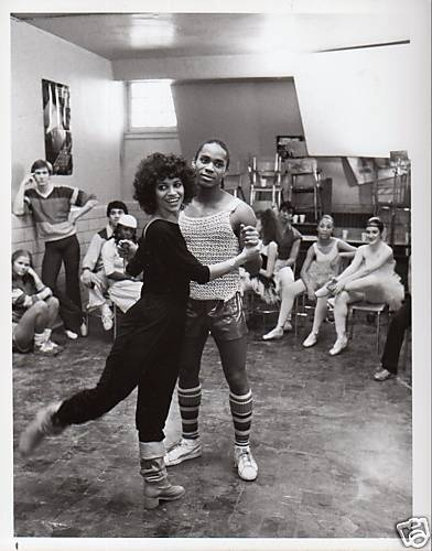 Debbie Allen and Gene Anthony Ray - from 'Fame' fame (photo by Vanessa G. Turner)