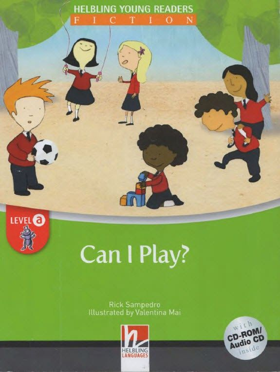 Books should be free for everyone: Can I Play? (with Audio)