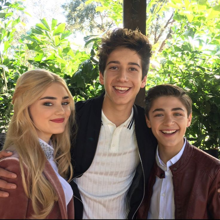 With Meg Donnelly and Milo Manheim
