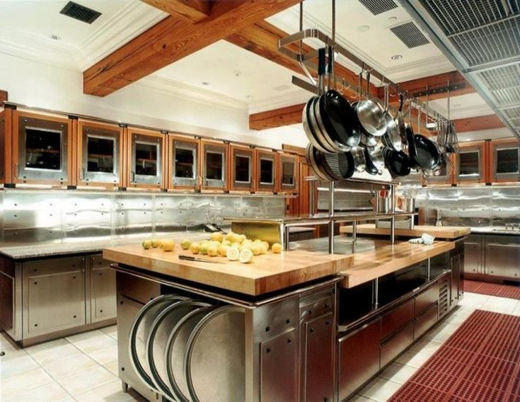 Kitchen Design For Restaurant Enchanting Decorating Design