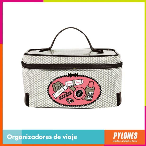 Organizador de viaje blanco #SemanaSanta #Santo #Vacaciones  @pylonesco
