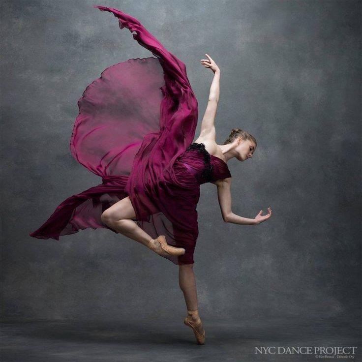 Искусство танца и фотографии в NYC Dance Project