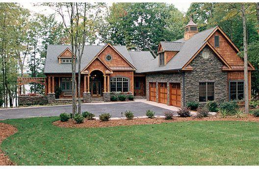house plans homeCraftsman Style Home, Dreams Home, Lakes House, Craftsman Home, Dream Homes, Houseplans, Lakes Home, Dreams House, House Plans
