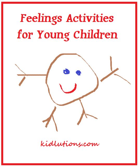 #Feelings Activities for Young Children  Great to help kids learn to express their feelings instead of building frustrations and having a lack of communication...