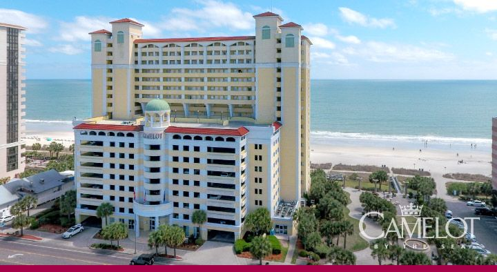 Camelot By the Sea Hotel | An Oceanfront Myrtle Beach Hotel: A Grand Strand Hotel for the Whole Family | Oceana Resorts by Wyndham Vacation Rentals