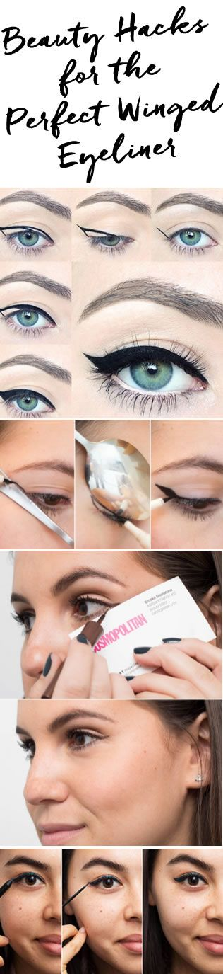 Yes, you can have beautiful matching wings!!  Read on blog post on ways to get the perfect winged liner: http://blog.pampadour.com/draw-perfect-eyeliner-wing-beauty-hacks/ #beauty #beautyhacks #wingedliner #blogpost.