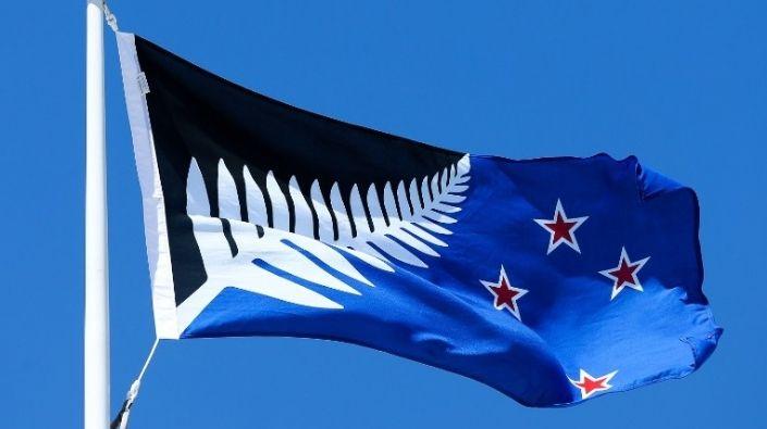 Posible nueva bandera de Nueva Zelanda