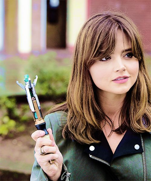 """""""I'm the Doctor. But you can call me Clara."""" :D"""