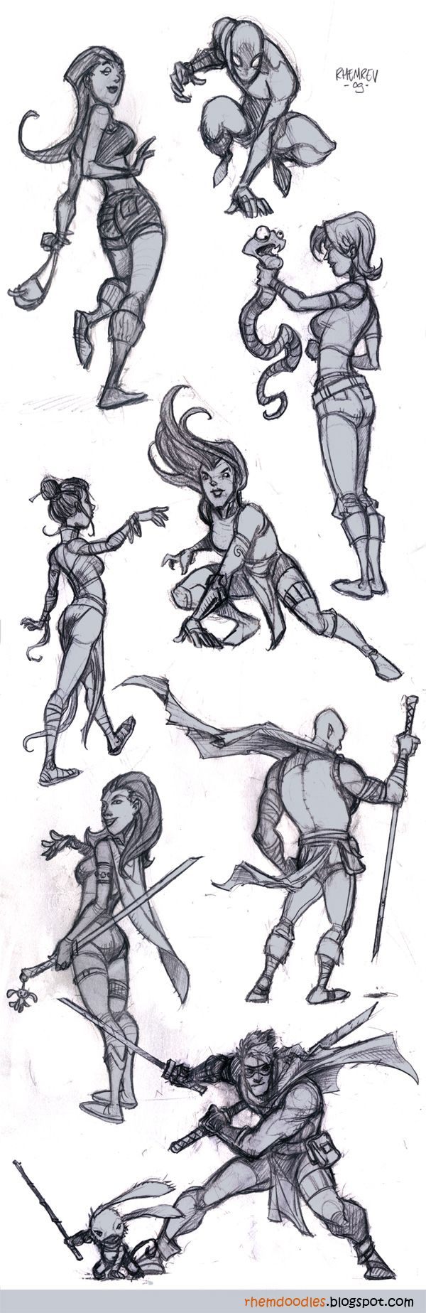 RHEMREV.COM | Visual development: February 2009 ✤ || CHARACTER DESIGN REFERENCES | キャラクターデザイン • Find more at https://www.facebook.com/CharacterDesignReferences if you're looking for: #lineart #art #character #design #illustration #expressions #best #animation #drawing #archive #library #reference #anatomy #traditional #sketch #artist #pose #settei #gestures #how #to #tutorial #comics #conceptart #modelsheet #cartoon #lifedrawing || ✤