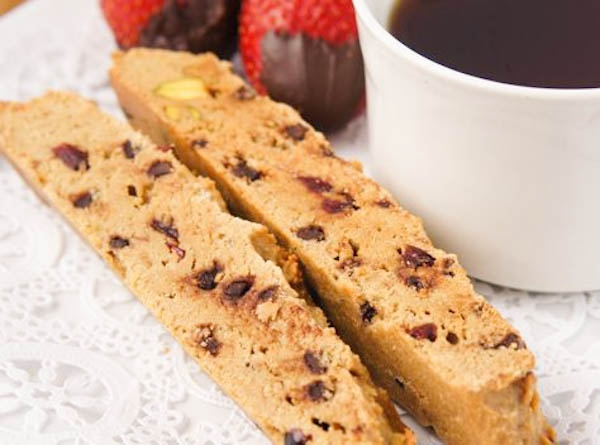 Chocolate and pistachio biscotti | Recipe | Pistachios, Pistachio ...