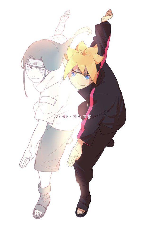 Neji and Boruto #Naruto