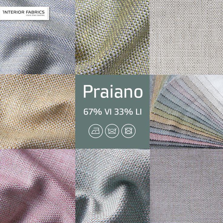 НОВИНКА!! от Interior Fabrics - обивочные ткани PRAIANO! Созданы из НАТУРАЛЬНЫХ материалов: 67% ВИСКОЗА, 33% ЛЕН! Имеют крупное грубоватое, но однородное, переплетение, при этом на ощупь гладкие и даже скользящие. На свету ткани переливаются перламутром. Цветовая гамма мягкая и приглушенная... Для заказа свяжитесь с менеджерами вашего города! #тканидлямебели #тканинидлямеблів #декоративныеткани #декоративнітканини