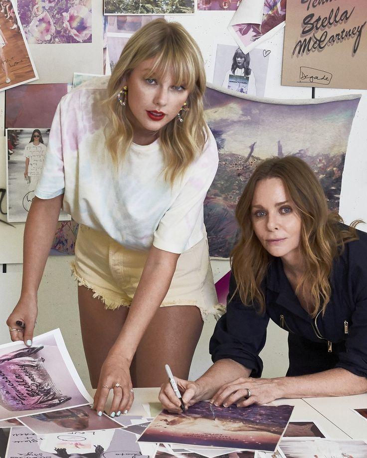 Taylor Swift und Stella McCartney enthüllen ihre modische Zusammenarbeit