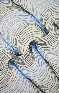4th grade art - Optical Illusions