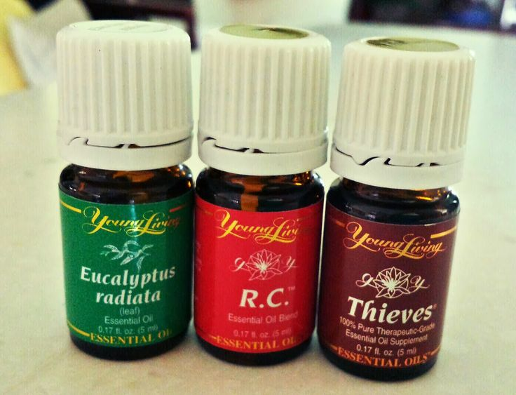 Topical: 1-3 drops of peppermint or Rc or Eucalyptus Radiata on each of the following areas -- forehead, nose cheeks, lower throat, chest and upper back. Do this for 3-5 x daily or as needed.