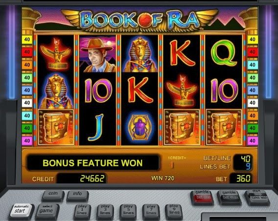Play Slots Online For Free at Playslotscasinos.com: Book of Ra free