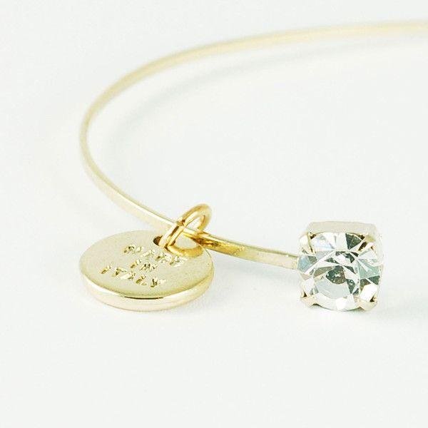 CATERINA MARIANI BIJOUX Swarovski Crystal Bracelet | La Luce http://shoplaluce.com/collections/caterina-mariani-bijoux/products/caterina-mariani-bijoux-swarovski-crystal
