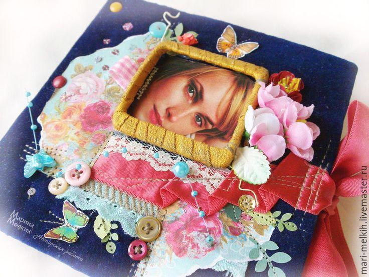 Купить Фотоальбом Девичьи грезы - фотоальбом ручной работы, подарок девушке, подарок на выпускной