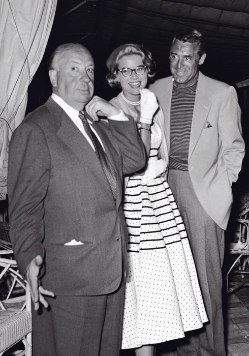 Hitchcock, Kelly, and Grant