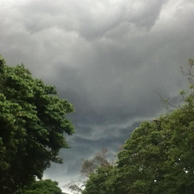 Nubes negras...