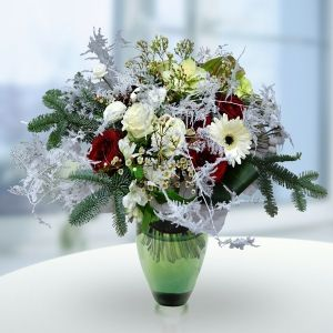 """""""Зимнее волшебство"""" - букет под таким названием вас ждет в Цветочной Студии АГАВА)"""