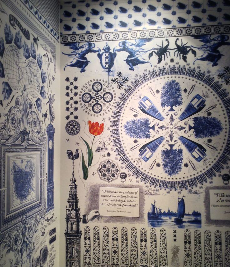 Delft Blue Holland Wallpaper Delft Blue Wallpaper