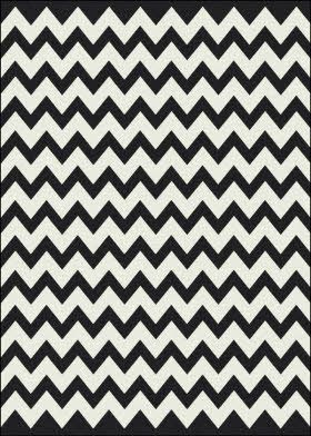 milliken zigzag rug--cheap cheap! : Area Rugs, Black And White, Chevron Pattern, Milliken Black, Vibe Techno, Rugs Direct