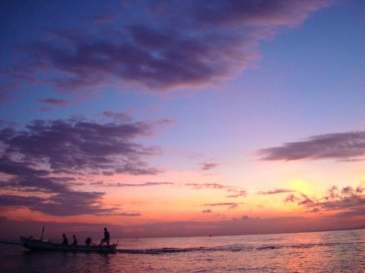 Going Home - Lovina Beach, Bali
