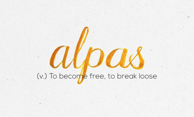 �Alpas� | 36 Of The Most Beautiful Words In The Philippine Language