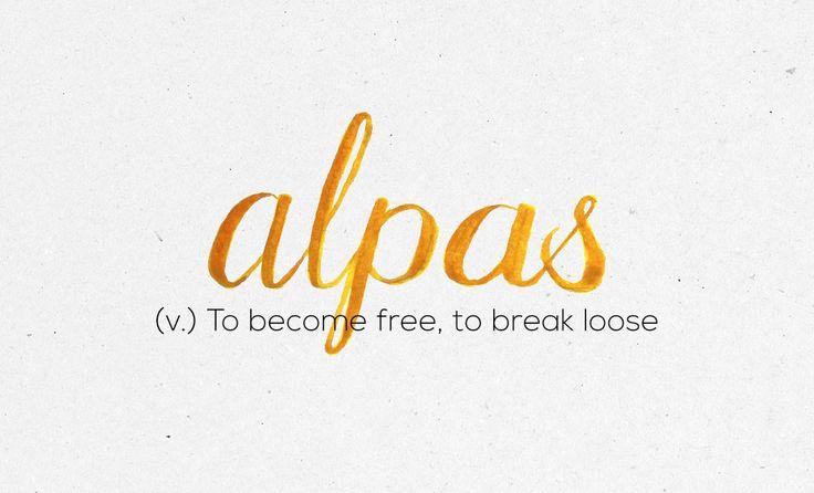 """""""Alpas""""                                                                                                                                                                                 More"""
