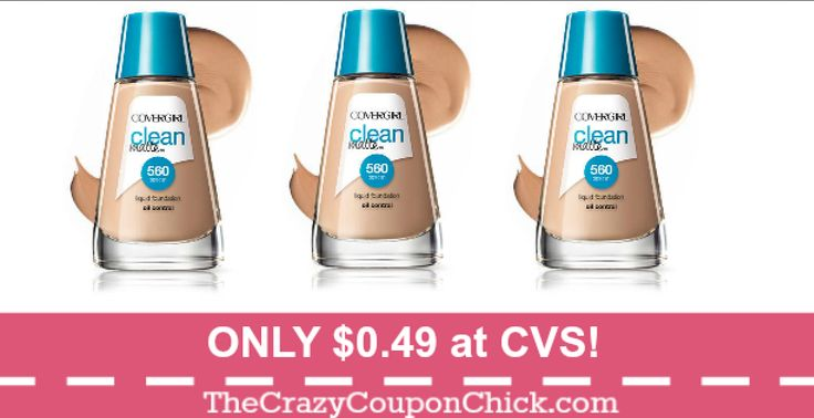 Are These on Your List? Covergirl Foundations ONLY $0.49 at CVS (12/10)