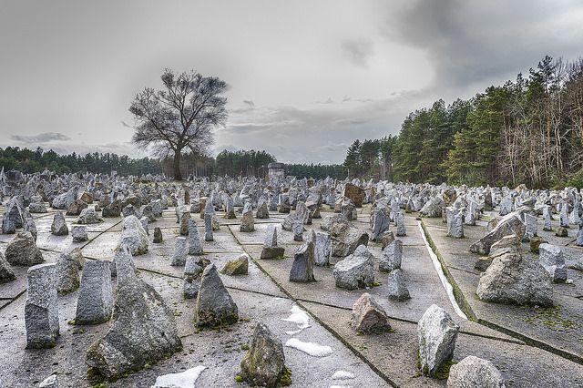 Treblinka death camp Memorial