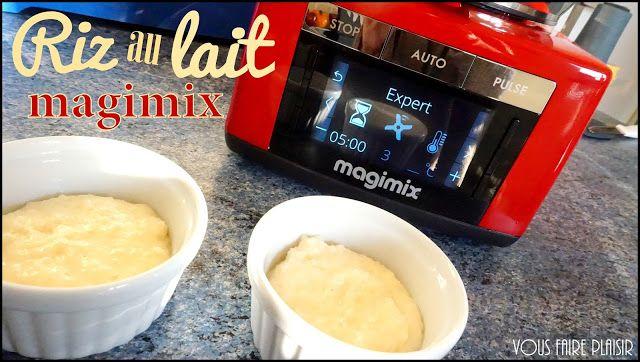 Riz au lait: Cook Expert Magimix