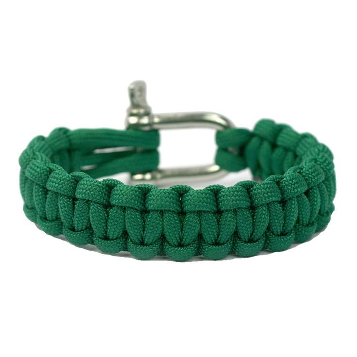 Kelly Green Super Strong and Durable Paracord Bracelet - Naimakka