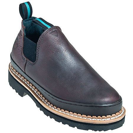 Georgia Boots Men's Brown GR262 Oil Resistant Giant Romeo Soggy Work B