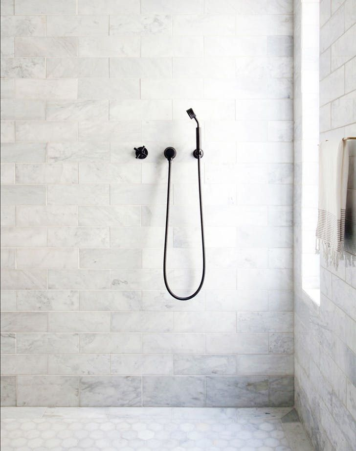 From kitchen sinks to showerheads to towel rings, one thing is certain this spring: Matte black metal is back, baby. And the best part about this rising trend? Much like a little black dress, the crisp, neutral finish works for traditional, modern and every style in between. Here, 13 of our favorite iterations. (Looking for more home decor inspiration? Head to Pinterest .) RELATED: Break Out the Paint: Navy Kitchens Are Tres Chic Right Now