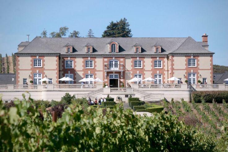 Domaine carneros napa hugging the napa and sonoma county border the grand chateau of