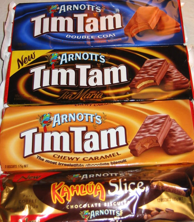 Tim Tams - just another FINE reason to live in Australia!