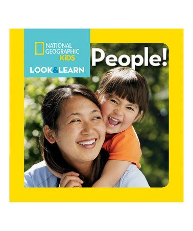 Look at this #zulilyfind! Look & Learn: People Board Book #zulilyfinds