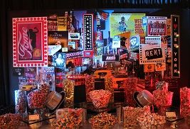 New York NY Broadway inspired Candy Buffet Table by Pittsburgh Candy Buffet