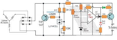 From this put up we learn tips on how to design a 3v, 4.5v, 6v, 9v, 12v, 24v, Automatic Battery Charger that can be verified by any researcher