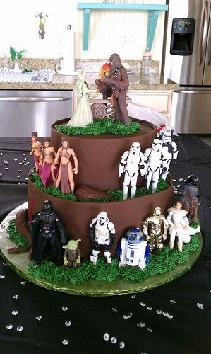 Star Wars grooms cake | Flickr - Photo Sharing!