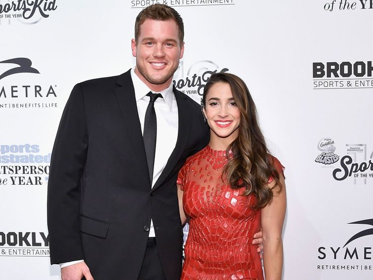 Five months after agreeing to go on a date with tight end Colton Underwood, Olympic gymnast Aly Raisman has let the cat out of the bag and revealed they are officially a couple! The two walked the red carpet on Monday night at the Sports Illustrated Sportsperson of the Year Ceremony 2016 at Barclays