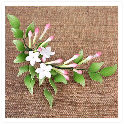 Handmade Gumpaste Jasmine Flowers
