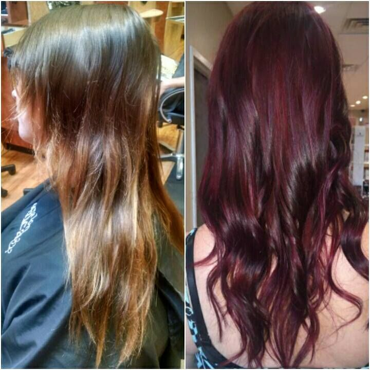 Spring into Fall with an awesome new dimensional hair