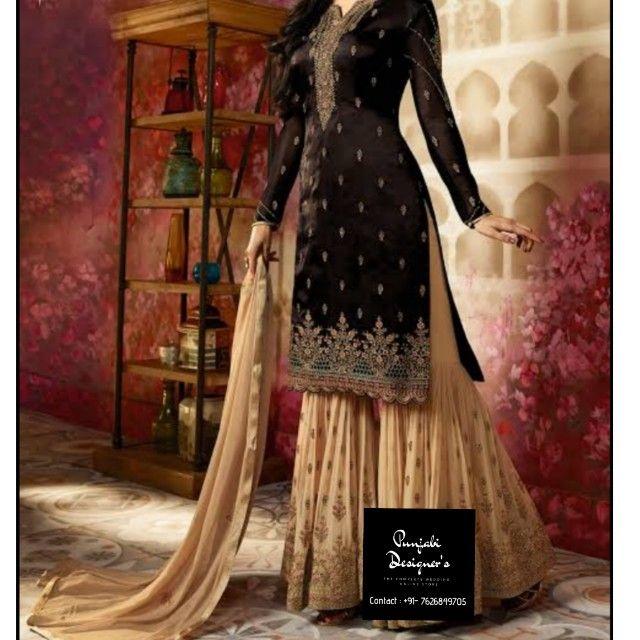 Buy Sharara Suits 2019 Kameez Online From Punjabi Designers We