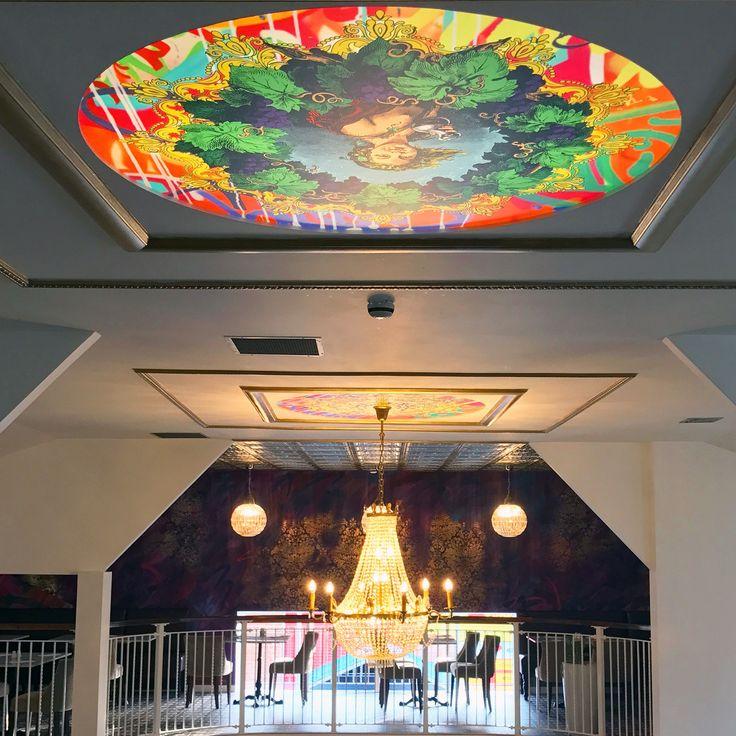 Food Worthing - Restaurant illuminated ceiling panels