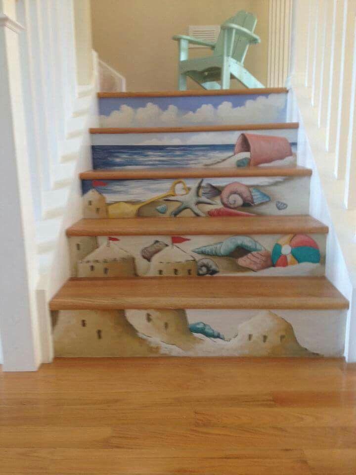 Via Ocean City Murals. Love This For A Beach House.