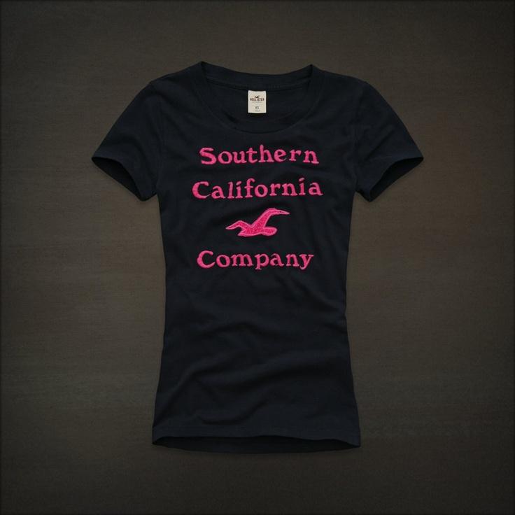 T-shirt Hollister.